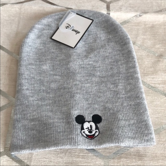 9b585ed4c New Disney by Primark Mickey Grey Beanie Hat! NWT